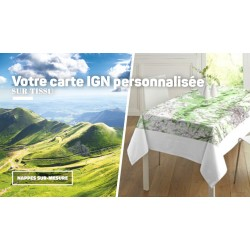 Carte MARINE ou IGN sur-mesure