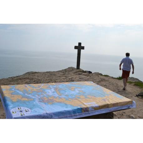 Nap' Map - SHOM enduite Golfe du Morbihan (210*150)