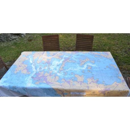 Nap' Map - carte marine SHOM enduite